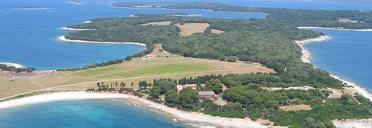 Pogled na Brijune i njegove otoke